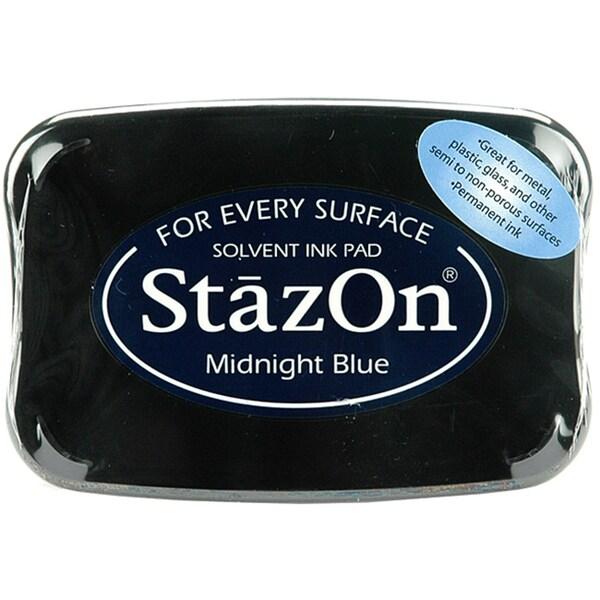 StazOn Midnight Blue Inkpad