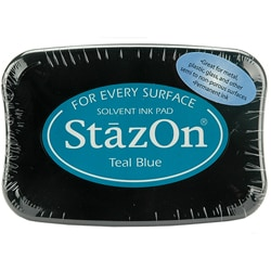 StazOn Teal Blue Inkpad