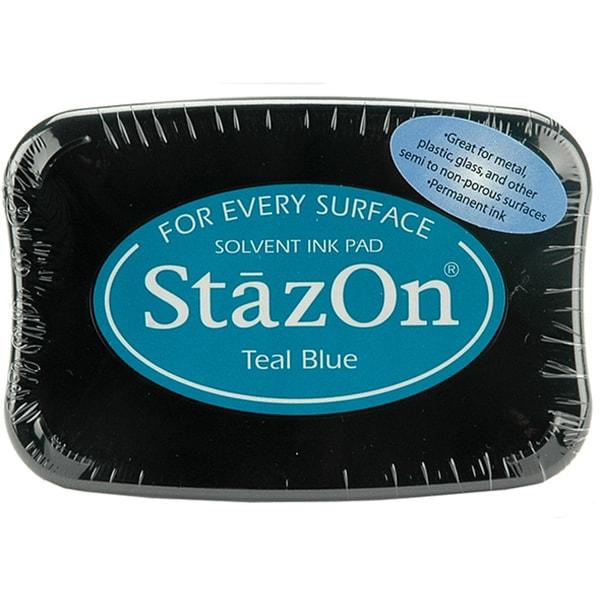 StazOn Teal Blue Inkpad