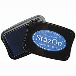 Staz-On Hydrangea Blue Inkpad