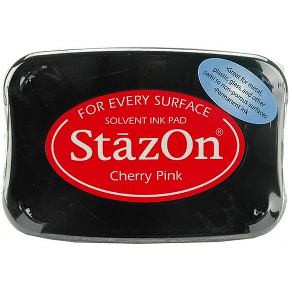 StazOn Cherry Pink Inkpad