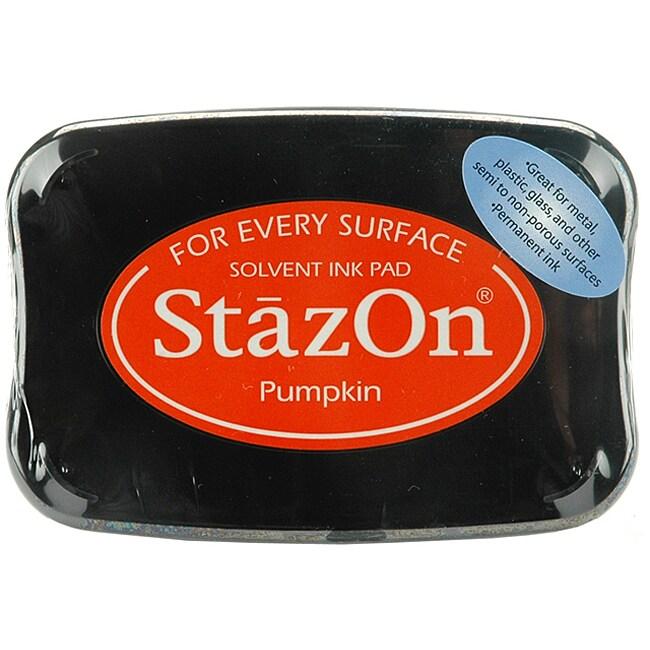 StazOn Pumpkin Inkpad