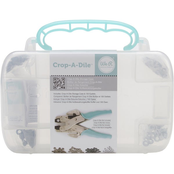 Crop-A-Dile Case with Eyelets