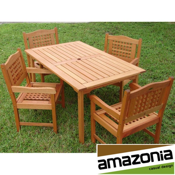 Amazonia Brisbane 5-piece Patio Set
