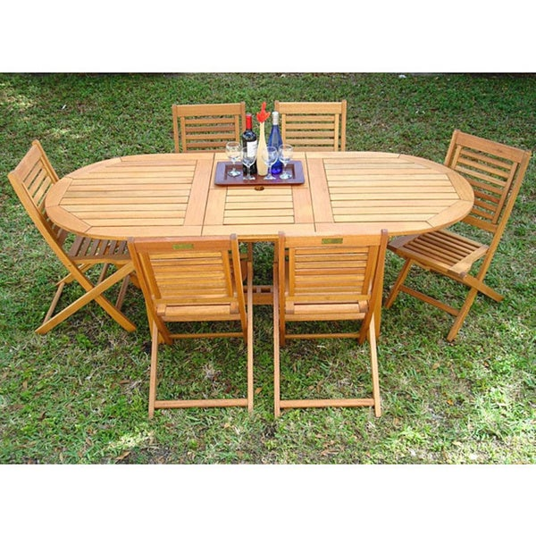 Amazonia Liverpool 7-piece Outdoor Dining Set