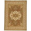 Hand-woven Regency Flat-weave Wool Rug (9' x 12')