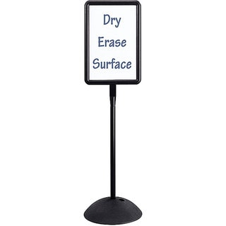 Safco Write Way Double-sided Free-standing Rectangle Message Board