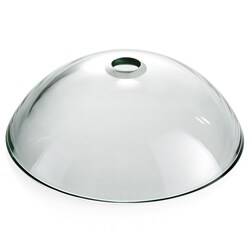 Kraus Clear 19mm thick Glass Vessel Sink with PU-MR Chrome