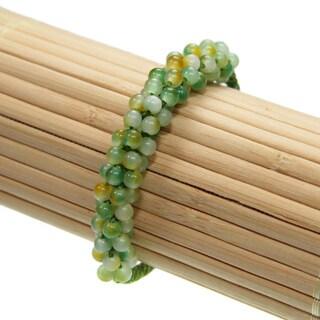 Multi-colored Jade Beads Bracelets (China)