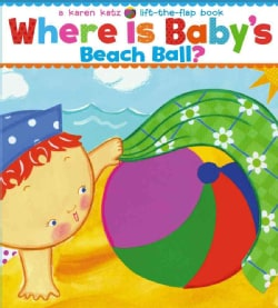 Where Is Baby's Beach Ball? (Board book)