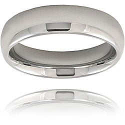 Men's Tungsten Domed Polished Band (6 mm)