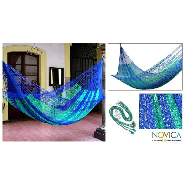Magical Isle' Hammock , Handmade in Mexico