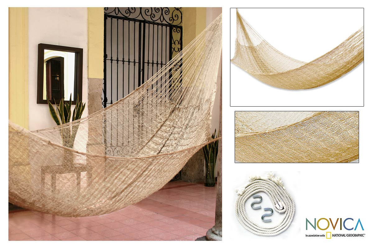 Novica Handmade Glowing Copper Hammock (Mexico) at Sears.com