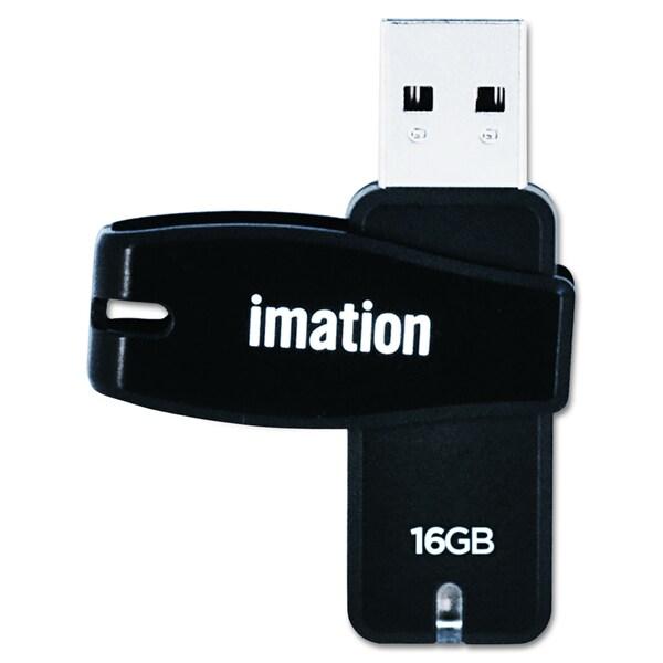 Imation 16GB Swivel USB 2.0 Flash Drive