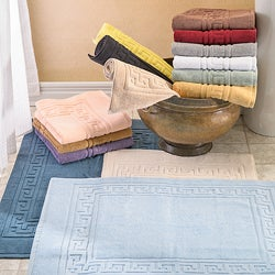 Luxurious Egyptian Cotton 2-piece Bath Mat Set