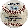 MLB Diamondbacks at Dodgers Game-used Baseball 8/05/2007