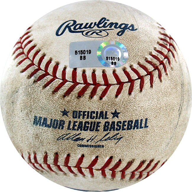 Padres at Dodgers Game-used Baseball 7/1/2007