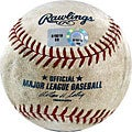 MLB Phillies at Dodgers Game-used Baseball 7/17/2007