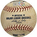 MLB Pirates at Dodgers Game-used Baseball 4/16/2008