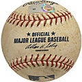 MLB Rockies at Dodgers Game-used Baseball 4/26/2007