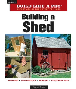 Taunton's Build Like a Pro, Building a Shed: Expert Advice from Start to Finish (Paperback)
