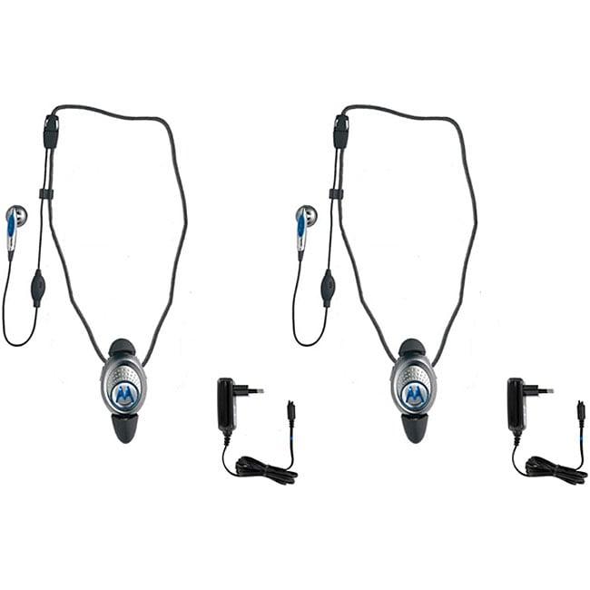 Motorola HS830 International Bluetooth Headset (Set of 2)