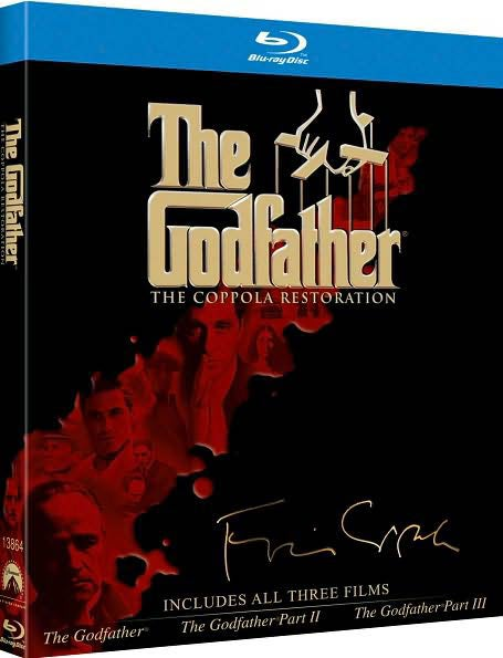 The Godfather Collection The Coppola Restoration Edition (Blu-ray Disc)