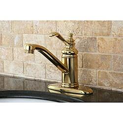 Templeton Polished Brass Centerset Bathroom Faucet