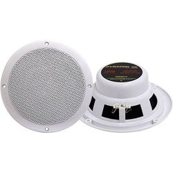 Pyramid 6.5-inch 120-watt Dual Cone Waterproof Speakers
