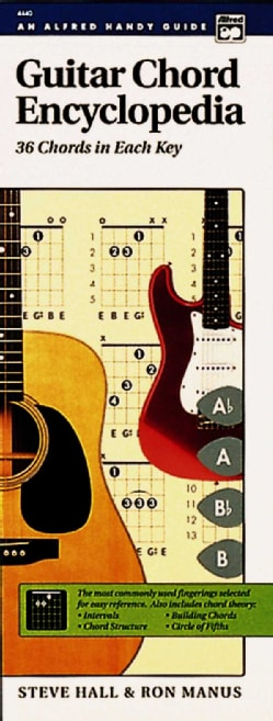 Guitar Chord Encyclopedia: 36 Chords in Each Key (Spiral bound)