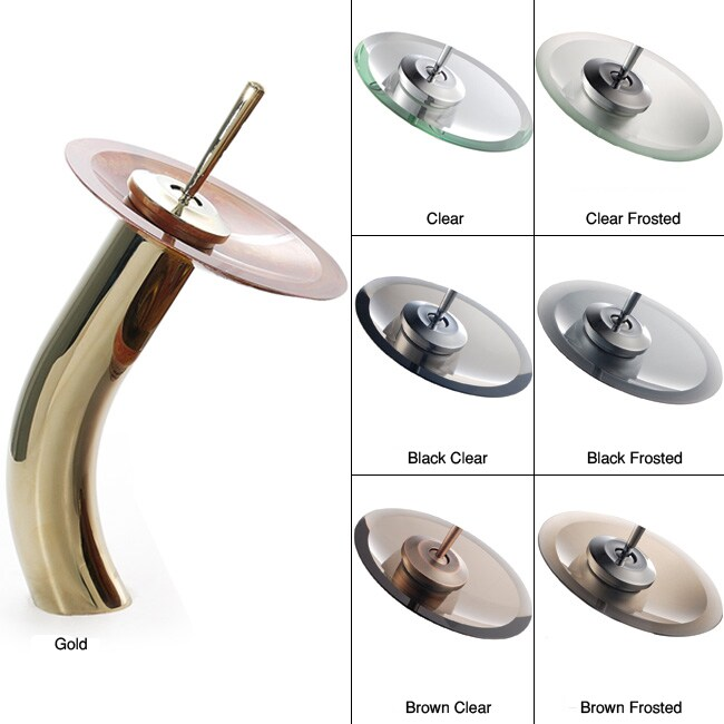 Kraus Waterfall Gold Finish Faucet