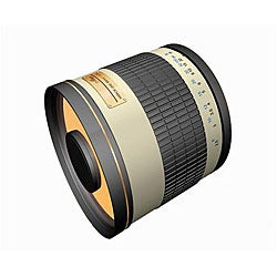 Rokinon 500mm Mirror Lens for Nikon Cameras