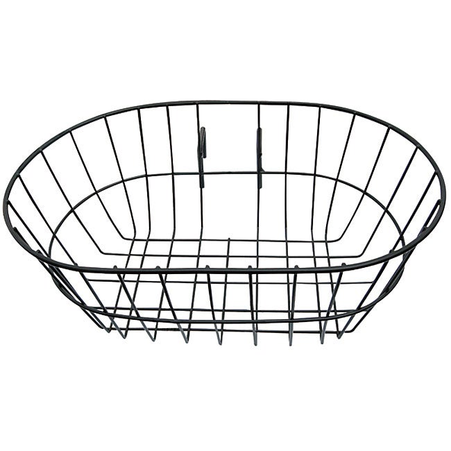 Mobo Triton Black Rubber/Steel Easy Tote Basket Cycling Accessory