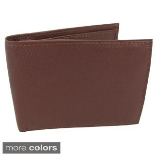 Amerileather Men's Leather Bi-fold Wallet