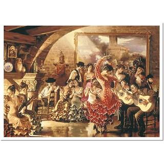Hava Dancers Canvas Art