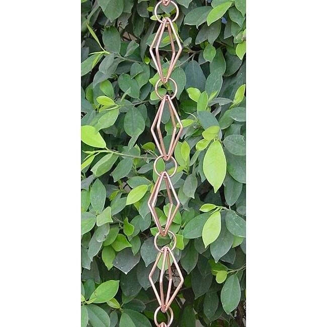 Diamond Copper Rain Chain