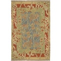 Hand-Knotted Legacy Collection Floral Wool Rug (10' x 14')