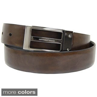 Geoffrey Beene Men's Reversible Leather Belt