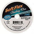 Beadaholique Soft Flex Beading Wire .014 Inch 'Steel' - 30 Ft. Spool