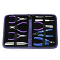 Beadaholique Beadsmith Deluxe 9-piece Jewelry Tool Kit with Case