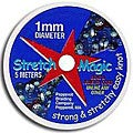 Beadaholique Stretch Magic Clear Stretchy 1 mm Beading Cord (5 Meters)