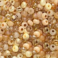 Beadaholique Czech Seed Beads Mix Size 6/0 'Saharan Sands'