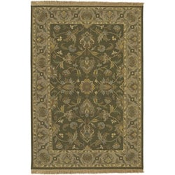 Hand-knotted Soumek Wool Rug (8' x 10')