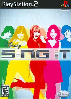PS2 - Disney Sing It (game only)
