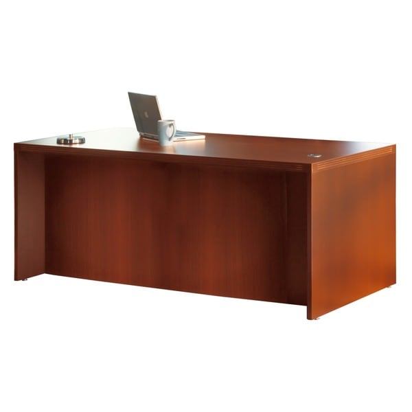 Mayline Aberdeen 72-inch Cherry Conference Front Desk Shell