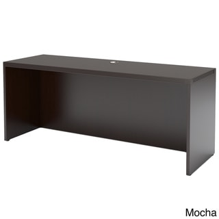 Mayline Aberdeen 60-Inch Wood-Laminate Credenza Shell