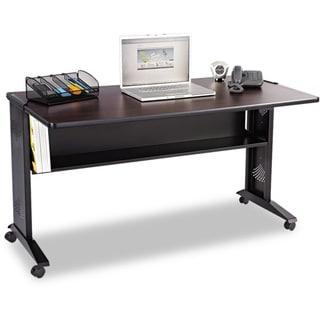 Safco Reversible Top Mobile Desk