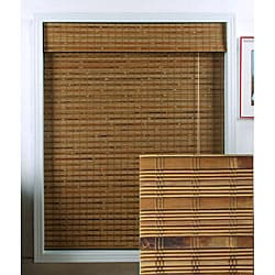 Dali Native Bamboo Roman Shade (34 in. x 74 in.)