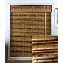 Dali Native Bamboo Roman Shade (36 in. x 98 in.)