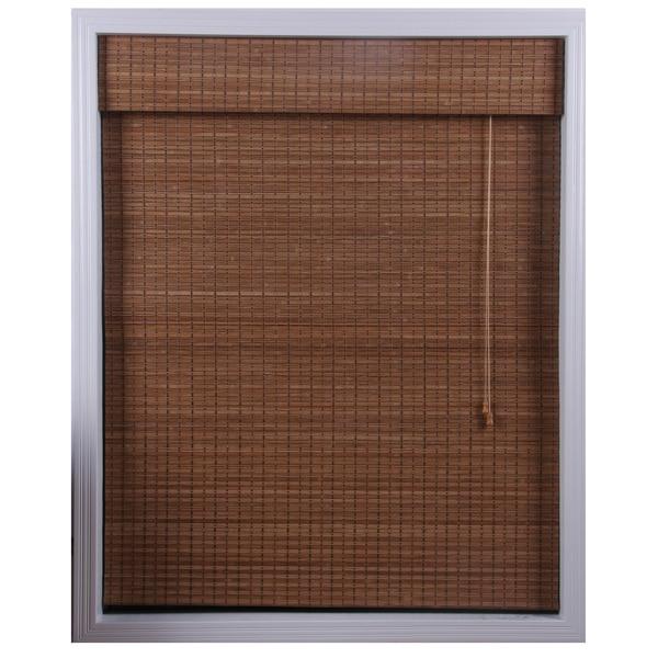 Ginger Bamboo Roman Shade (37 in. x 74 in.)